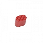 GUNTEC AR15 EXTENDED MAG BUTTON (ANODIZED RED)
