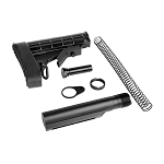 L-E STOCK AND BUFFER TUBE KIT BLACK